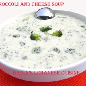 Broccoli  and Cheese Soup....There is nothing more satisfying than sipping a steaming bowl of soup after a long fasting day