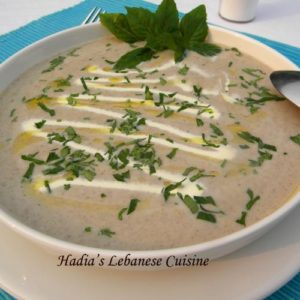 Cream of Mushroom Soup...I did a guest post on Kecia's Flavor Breakthrough....Kindly follow the link to get the full recipe.