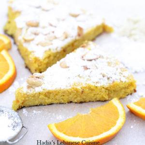 Spanish Orange and Almond Cake.....A  delicious moist flourless cake