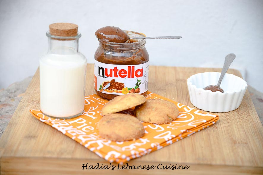 Nutella Filled Cookies: These make a great afternoon tea snack or even a lunch box treat