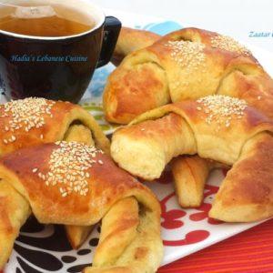 Zaatar Croissant.