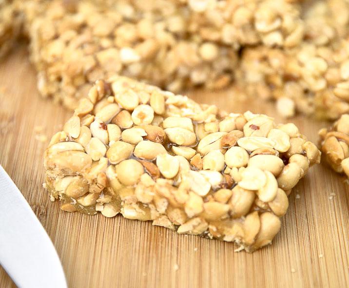 Fistkieh / Peanut Sticky Bars