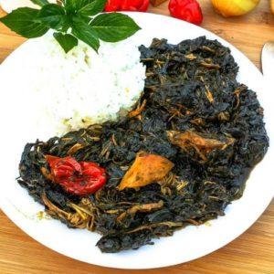 Sweet Potato leaf Stew / Matembela