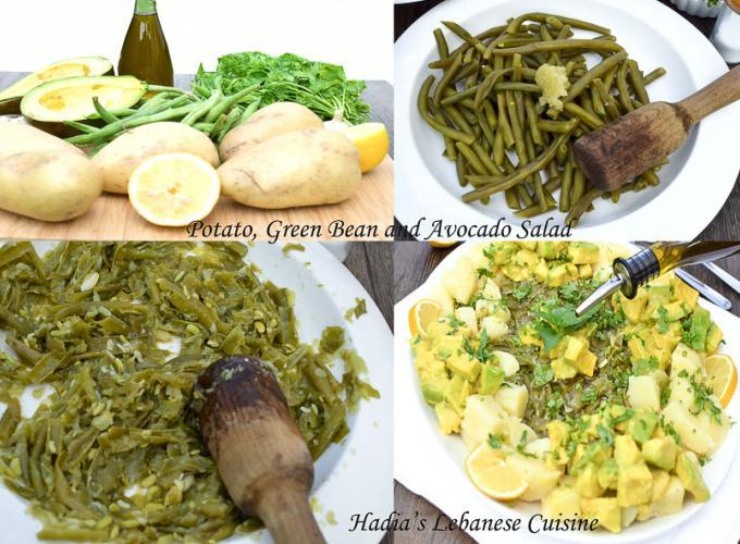 Potato, Green Bean and Avocado Salad