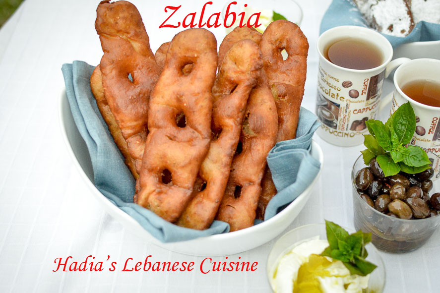 Zalabia (Lebanese Sweet Fritters)