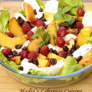 Fruity Grilled Nectarine Salad