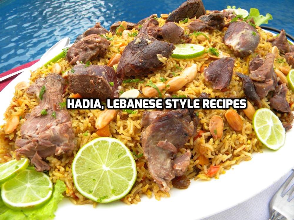 Meat Kabsa Hadias Lebanese Cuisine